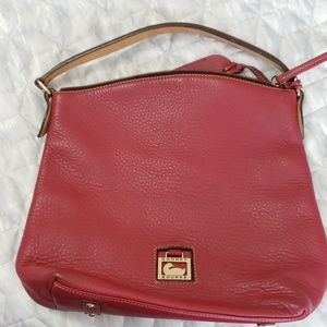 Authentic Pebbled Leather Dooney and Bourke